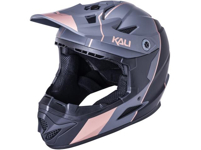 Kali Zoka Stripe Helmet, czarny/szary